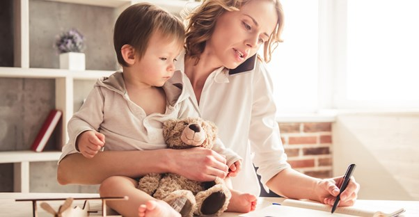 Best States for Working Moms