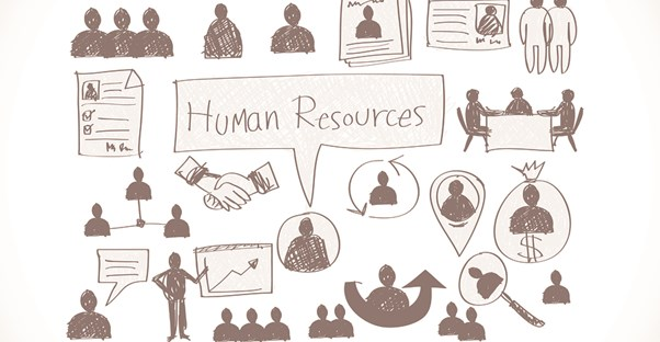Sketches that represent human resources